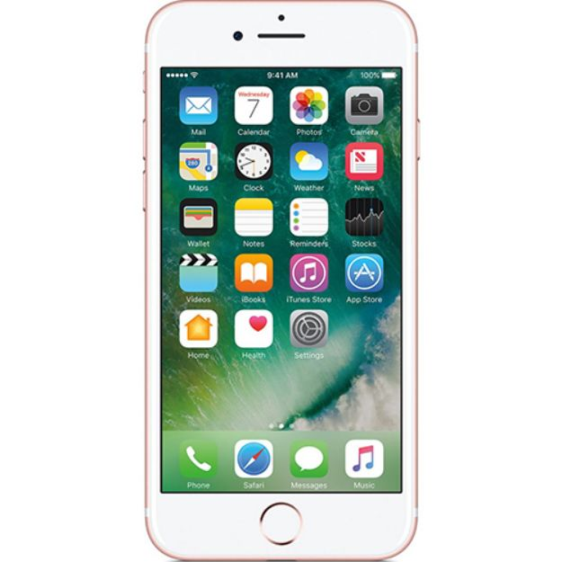 Picture of Apple iPhone 7 32GB - Rose Gold - Unlocked | Refurbished Grade A