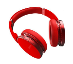 Picture of SH 22 Folding Bluetooth V4.0 Headphone Metal Wireless Headset Stereo Over Gaming Earphones | Red