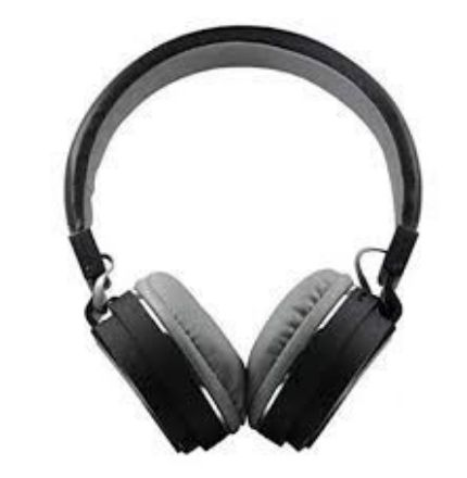 Picture of Buy SH 22 Folding Bluetooth Wireless Headset Stereo Over Gaming Earphones | Black