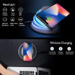 Picture of Foldable Wireless Charging Stand | With Color Changing LED Light - Gray