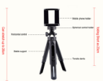 Picture of Tripod Mobile Phone & Camera Holder Stand
