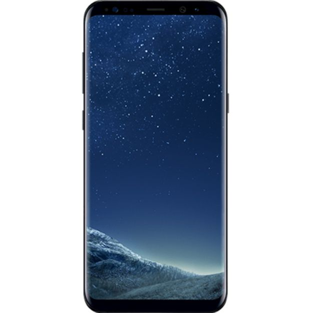 Picture of Refurbished Samsung Galaxy S8 Plus 64GB - Midnight Black - Unlocked | Excellent condition