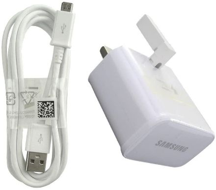 Picture of Samsung 15W Plug Fast Charging Adapter With Micro USB Cable