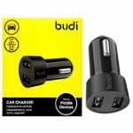 Picture of Dual Port 17W/3.4AMP USB Car Charger Adapter | Black