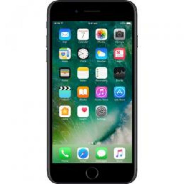 Picture of Apple iPhone 7 Plus 32GB - Matte Black - Unlocked   Refurbished Grade A