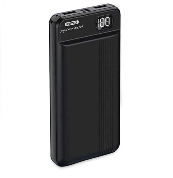 Picture of Remax Power Bank Ultra Power Backup With High Speed Charging | RPP-106 20000mAh