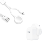 Picture of Official Apple Watch Magnetic Charger With 1M Lightning Cable | White
