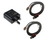 Picture of Fast Charging Speedy Micro USB Cable For Samsung Galaxy | 2 Meter | Black