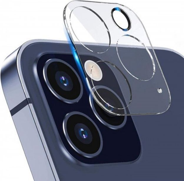 Picture of Tempered Glass Back Camera Lens Protector for iPhone 12