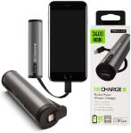 Picture of Techlink Recharge 3400mAh Portable Power Bank & Cable