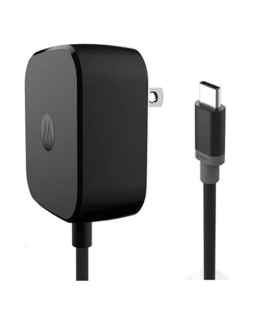 Picture of High Quality Motorola 20W USB-C Charger Turbo Power Wall Charger | Black