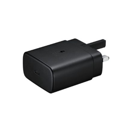 Picture of Samsung 3-Pin 45W Super Fast Adapter for S21 / S20 / Note 20 / Note 10 | Black