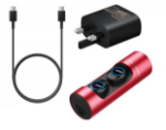 Picture of BOSE Wireless High Quality Bluetooth Earbuds (Soundsports Sky) With Built In Mic | RED