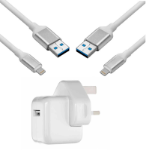 Picture of Fast Charging Speedy Lightning to USB Cable | White