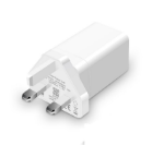 Picture of Oppo 20W Fast Charging USB Adapter UK 3 Pin Adapter | White