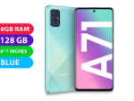 Picture of Brand New Samsung Galaxy A71 Prism Crush Blue, Dual Sim 128GB With 8GB RAM