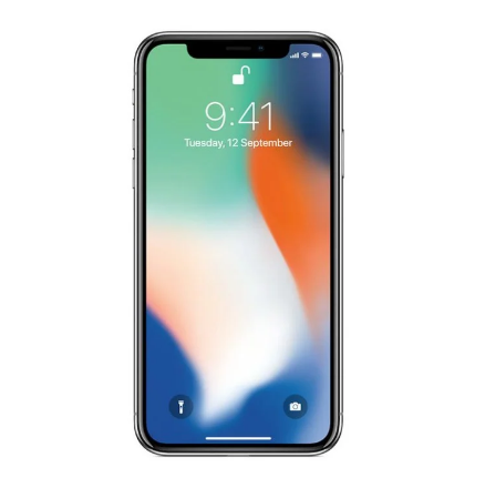 Picture of  Apple iPhone X 64GB - Silver - Unlocked | Fair Condition